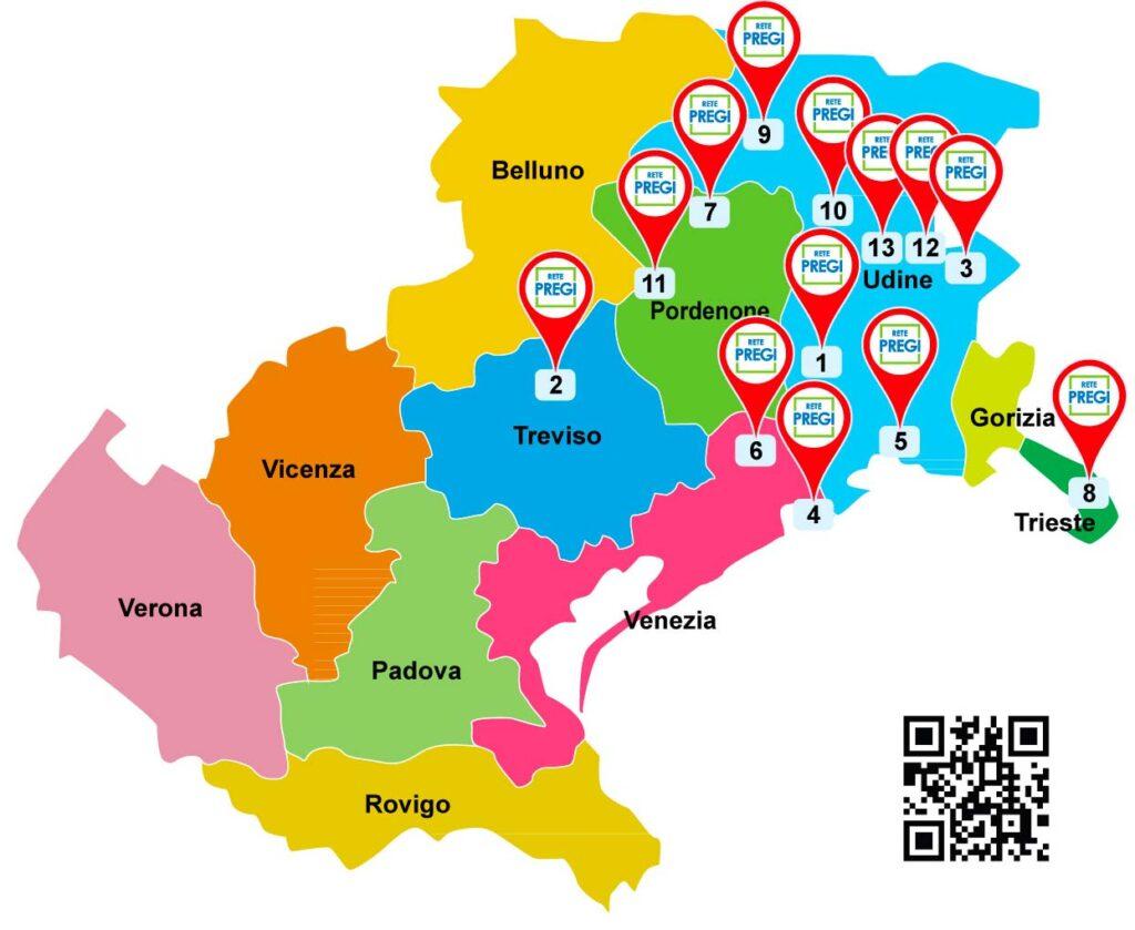 Mappa installatori Rete PREGI